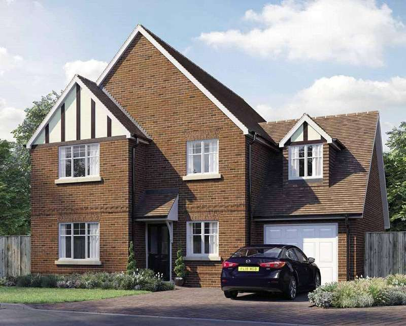 4 Bedrooms Detached House for sale in Oak Apples, Elgar Avenue, Crowthorne, Berkshire, RG45