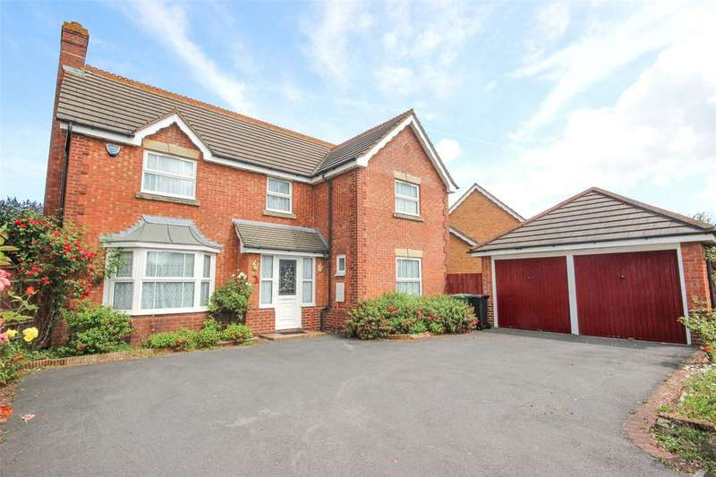 4 Bedrooms Detached House for sale in Saxon Way, Bradley Stoke, Bristol, BS32