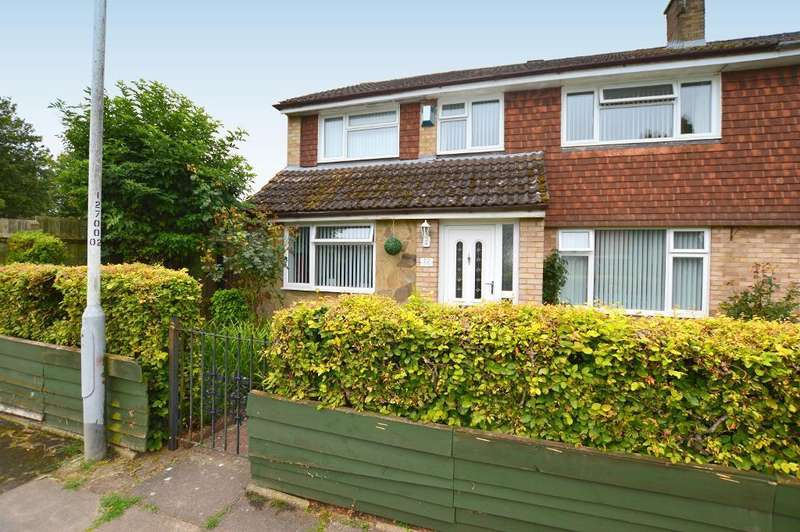 5 Bedrooms Semi Detached House for sale in Trimley Close, Tophill, Luton, Bedfordshire, LU4 9HJ