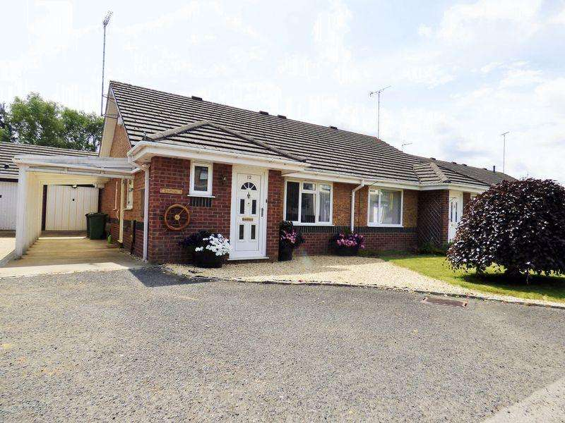2 Bedrooms Semi Detached Bungalow for sale in Watson Grove, Abbeymead, Gloucester