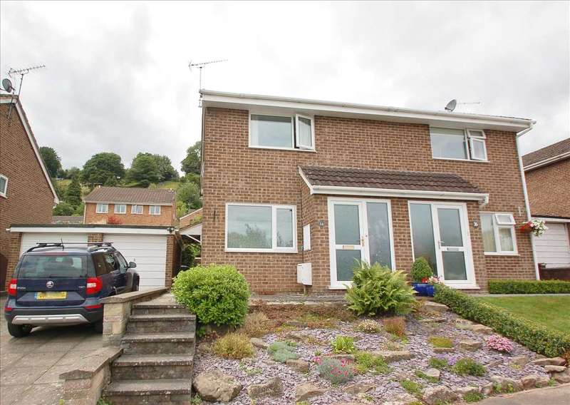 3 Bedrooms Semi Detached House for sale in COLCHESTER CLOSE, MITCHELDEAN