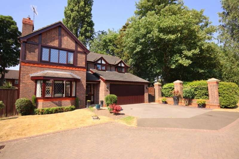 4 Bedrooms Detached House for sale in Lewis Close, Nantwich, CW5