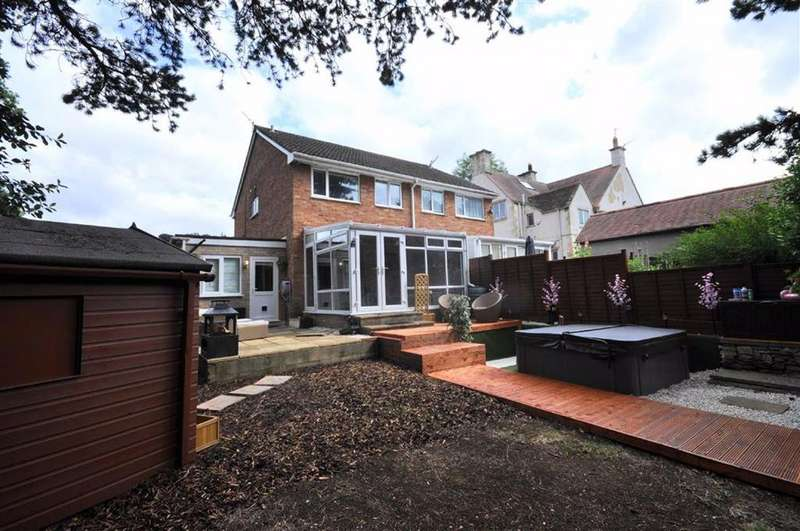 3 Bedrooms Semi Detached House for sale in Frome Park Road, Stroud