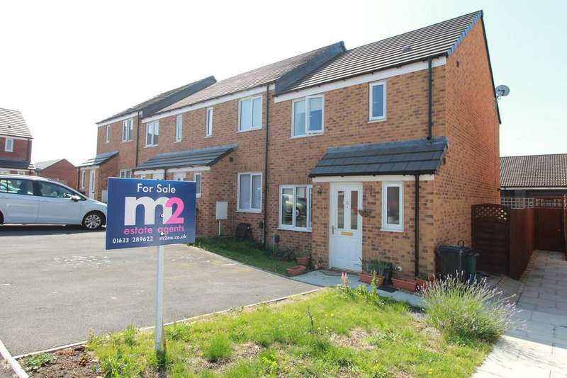 3 Bedrooms End Of Terrace House for sale in Cefn Adda Close, Newport, NP20