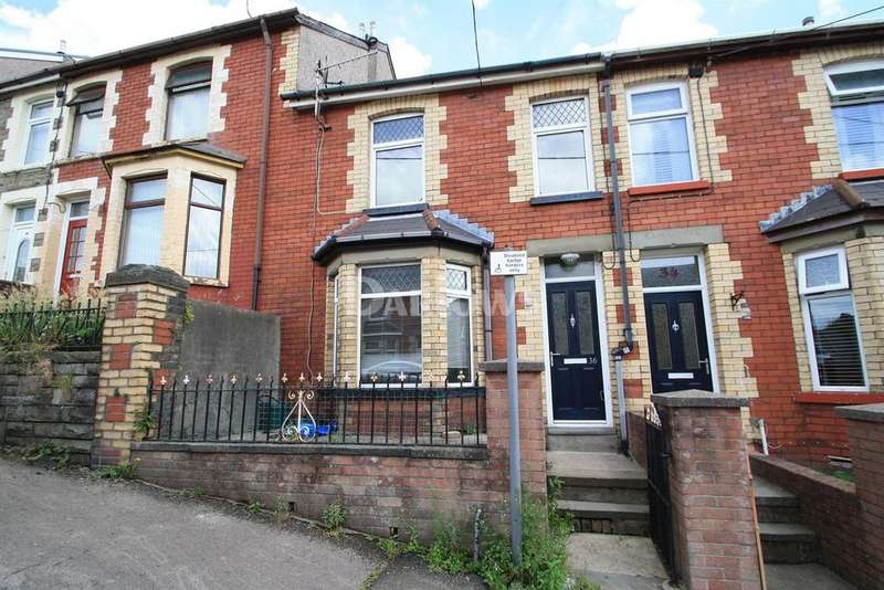 3 Bedrooms Terraced House for sale in Coronation Road, Six Bells, Abertillery, Gwent