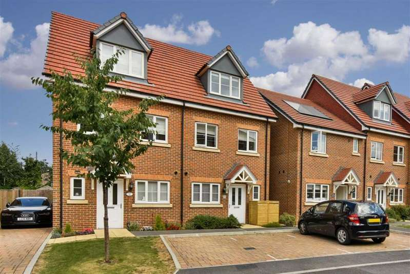 3 Bedrooms Semi Detached House for sale in Winter Close, Epsom, Surrey