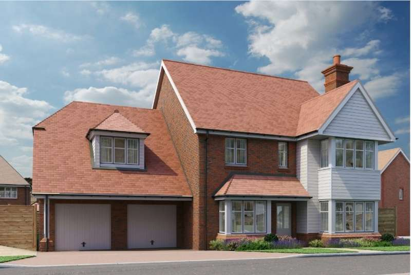 5 Bedrooms Detached House for sale in Broadacres, Worthing Road, Southwater