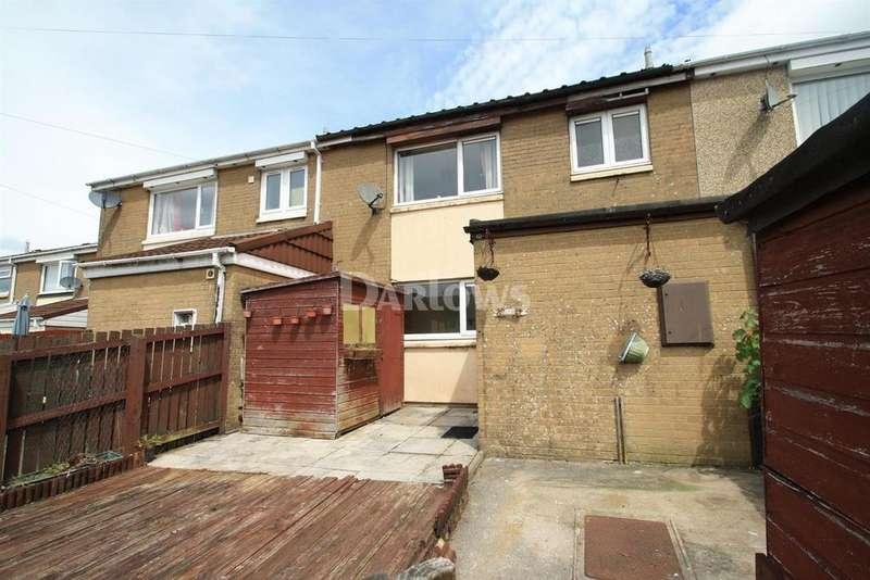 2 Bedrooms Terraced House for sale in Bryn Coch, Beaufort, Ebbw Vale, Blaenau Gwent