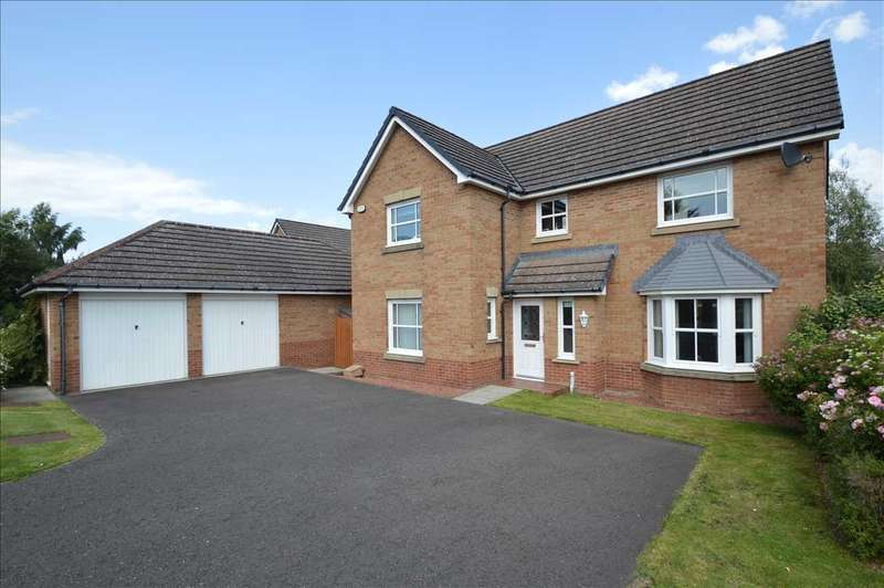 4 Bedrooms Detached House for sale in Abernethy Avenue, West Craigs, Blantyre