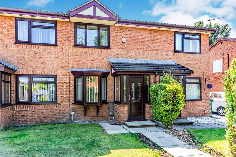 2 Bedrooms House for sale in Greenbooth Close, Dukinfield, Greater Manchester, SK16