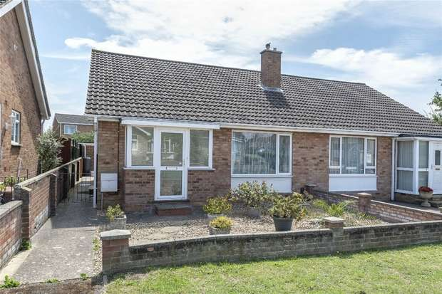 2 Bedrooms Semi Detached Bungalow for sale in Ludlow Walk, Bedford