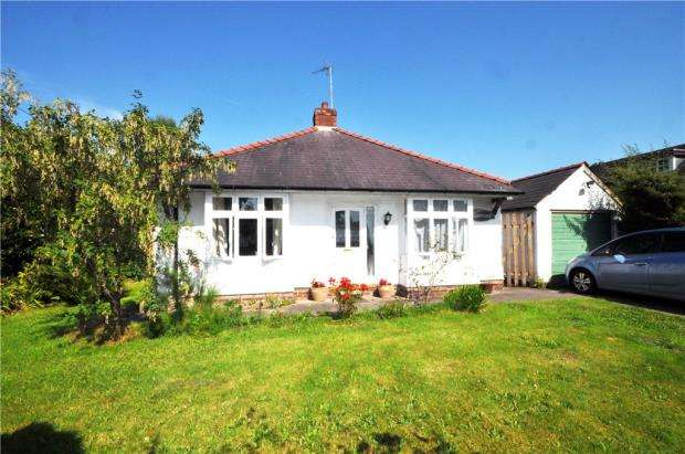 3 Bedrooms Semi Detached Bungalow for sale in Brown Heath Road, Christleton, Chester