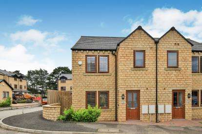 3 Bedrooms Semi Detached House for sale in Clarkson Close, Reedley, Burnley, Lancashire
