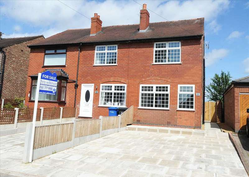 2 Bedrooms End Of Terrace House for sale in 20 School Lane Hollins Green WA3 6LL