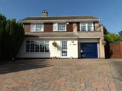 4 Bedrooms Detached House for sale in Thirlmere, Coalville