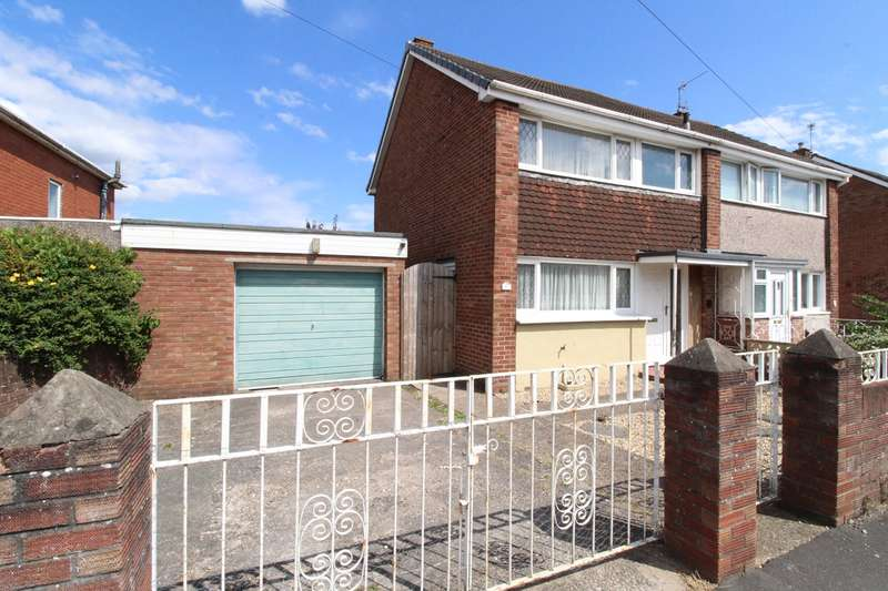 3 Bedrooms Semi Detached House for sale in Greenmeadow Road, Newport, NP19