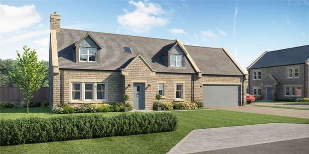 4 Bedrooms Detached House for sale in Plot 5, The Rochester, Carter Dene, Lesbury, Alnwick, Northumberland