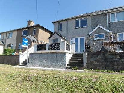 End Of Terrace House for sale in Haulfryn Estate, Llanfair, Harlech, Gwynedd, LL46