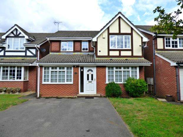 4 Bedrooms Detached House for sale in Fox Leigh, High Wycombe, Buckinghamshire