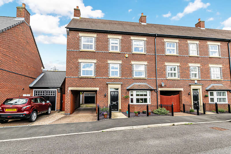 4 Bedrooms End Of Terrace House for sale in Stalbridge Drive, Swans Reach, Sandymoor