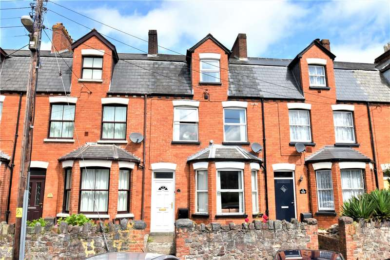 4 Bedrooms Terraced House for sale in Exe Vale Terrace, Tiverton, Devon, EX16