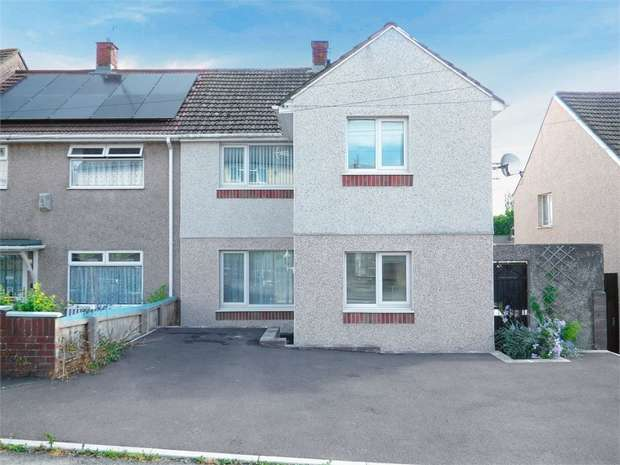 3 Bedrooms End Of Terrace House for sale in Somerset Way, Bulwark, Chepstow, Monmouthshire
