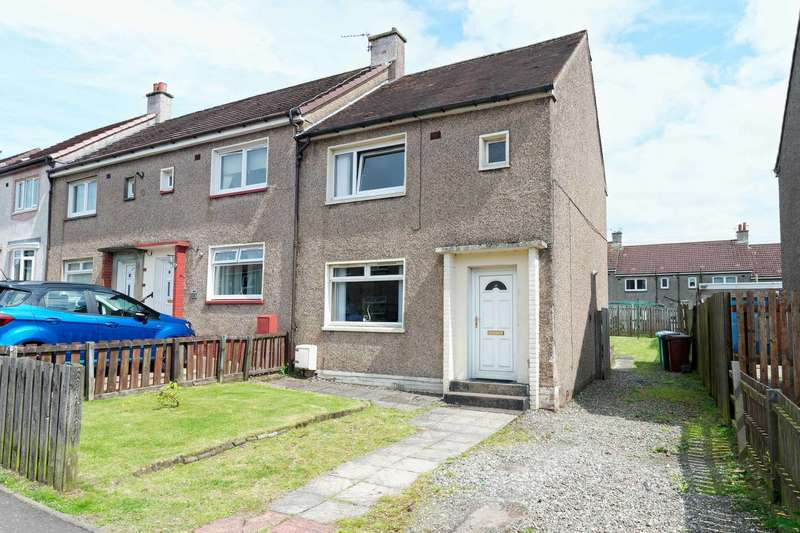 2 Bedrooms End Of Terrace House for sale in Inverkip Drive, Shotts, ML7 4DG