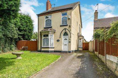 3 Bedrooms Detached House for sale in Long Lane, Halesowen, Birmingham, West Midlands