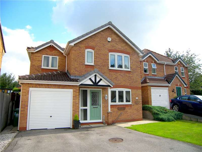 4 Bedrooms Detached House for sale in Peacock Way, Swanwick, Alfreton, Derbyshire, DE55