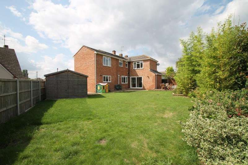 5 Bedrooms Detached House for sale in Tretawn Gardens, Tewkesbury