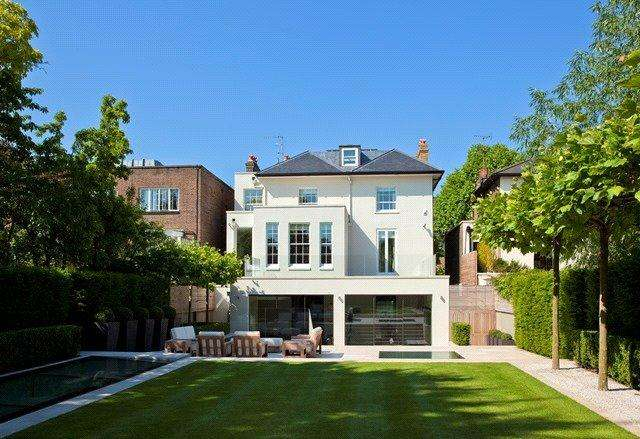 5 Bedrooms Detached House for sale in Hamilton Terrace, St Johns Wood, London, NW8