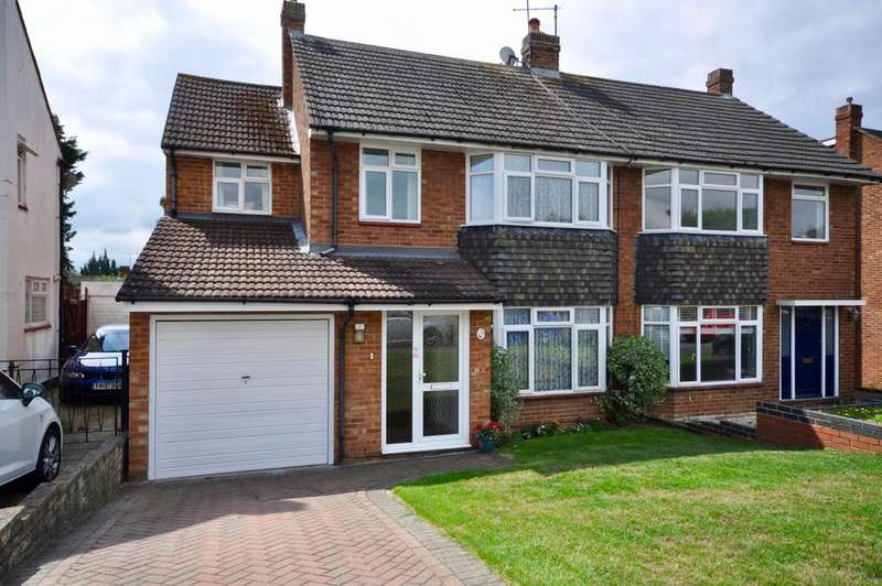 4 Bedrooms Semi Detached House for sale in Eastwood Road, Woodley, Reading, RG5 3PY