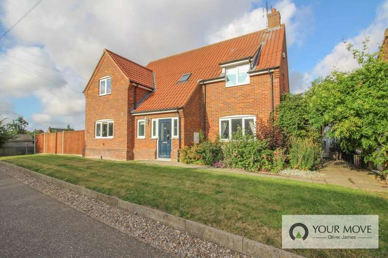 4 Bedrooms Detached House for sale in Claxtons Gardens Town Road, Fleggburgh, Great Yarmouth, NR29