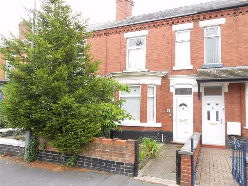 4 Bedrooms Terraced House for sale in Nelson Street, Crewe, Cheshire