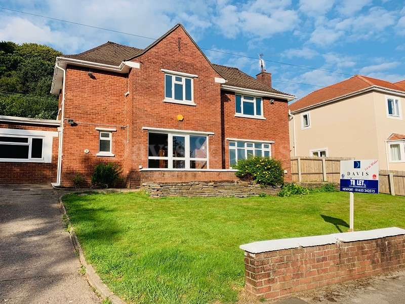 4 Bedrooms Detached House for rent in Woodland Drive, Rogerstone, Newport. NP10 9GB