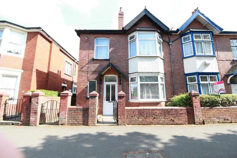 3 Bedrooms Semi Detached House for sale in Cardiff Road, Newport, NP20