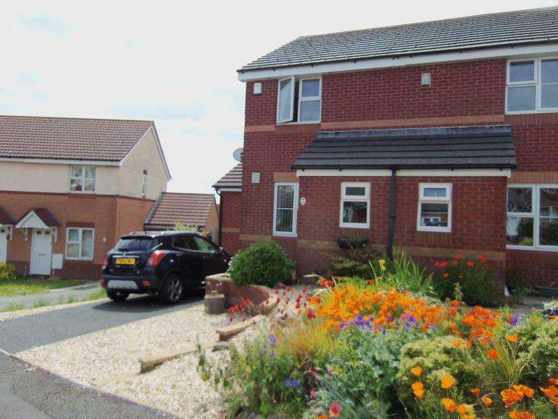 2 Bedrooms Semi Detached House for rent in Whitebeam Close, Paignton