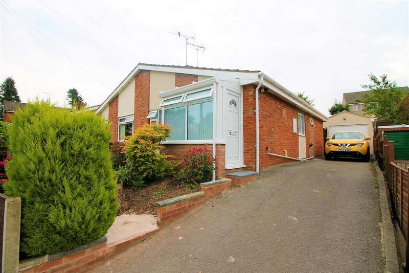2 Bedrooms Semi Detached Bungalow for sale in Hampshire Gardens, Coleford