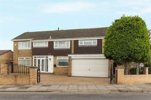 5 Bedrooms Detached House for sale in Hall Drive, Middlesbrough, North Yorkshire