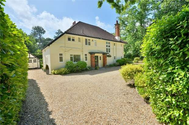 5 Bedrooms Detached House for sale in East Avenue, Talbot Woods, Bournemouth