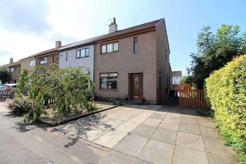 3 Bedrooms End Of Terrace House for sale in Biggart Road, Prestwick, KA9