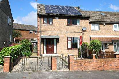 3 Bedrooms End Of Terrace House for sale in Priestley Avenue, Rawmarsh, Rotherham, South Yorkshire