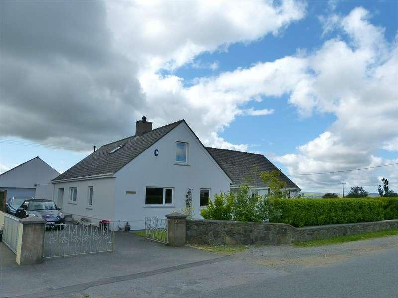5 Bedrooms Detached Bungalow for sale in Haulfryn, Tegryn, Llanfyrnach, Pembrokeshire