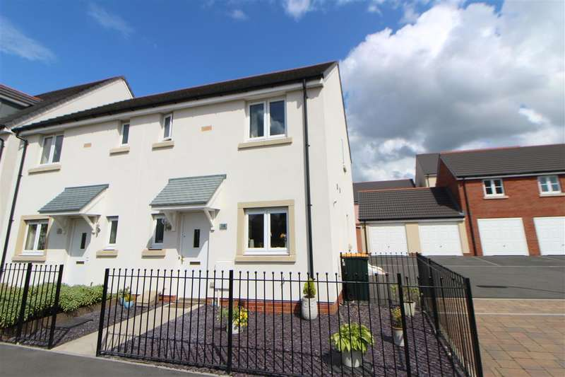 3 Bedrooms Semi Detached House for sale in Brinell Square, Newport