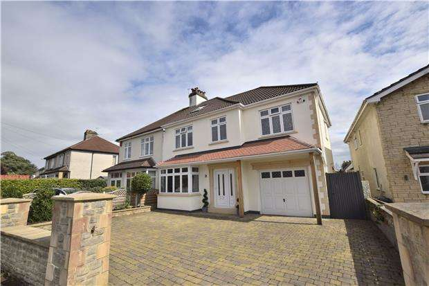 5 Bedrooms Semi Detached House for sale in Whittucks Road, Hanham, BS15 3PY