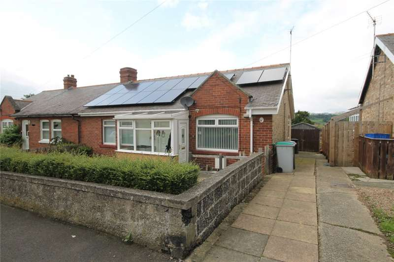 3 Bedrooms Semi Detached Bungalow for sale in The Bungalows, Ebchester, Consett, DH8