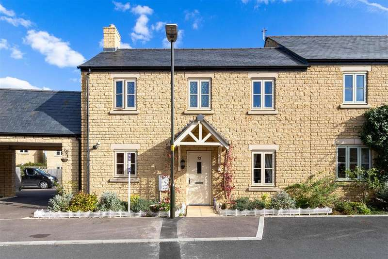 3 Bedrooms End Of Terrace House for sale in Lysander Way, Moreton in Marsh, Gloucestershire