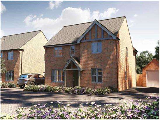 4 Bedrooms Detached House for sale in Plot 4, Cedar House, Chartist Edge, Staunton GLOS GL19 3RT