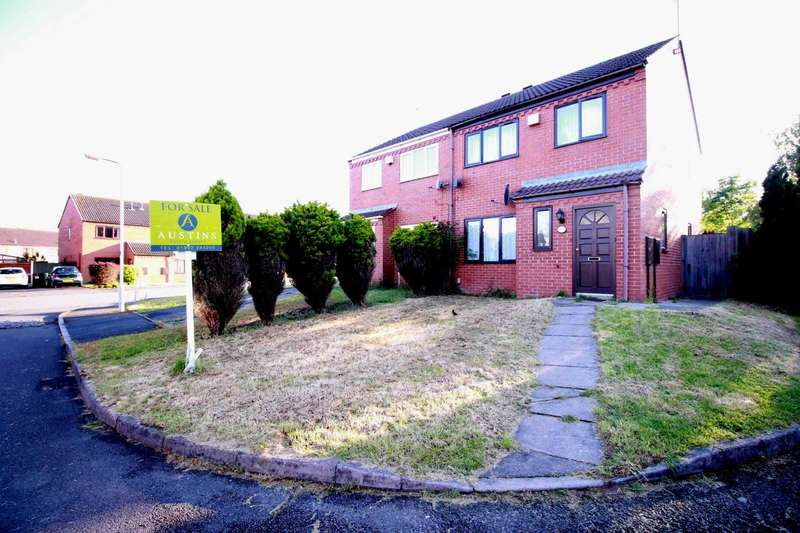 3 Bedrooms Semi Detached House for sale in Aster Walk, Wolverhampton