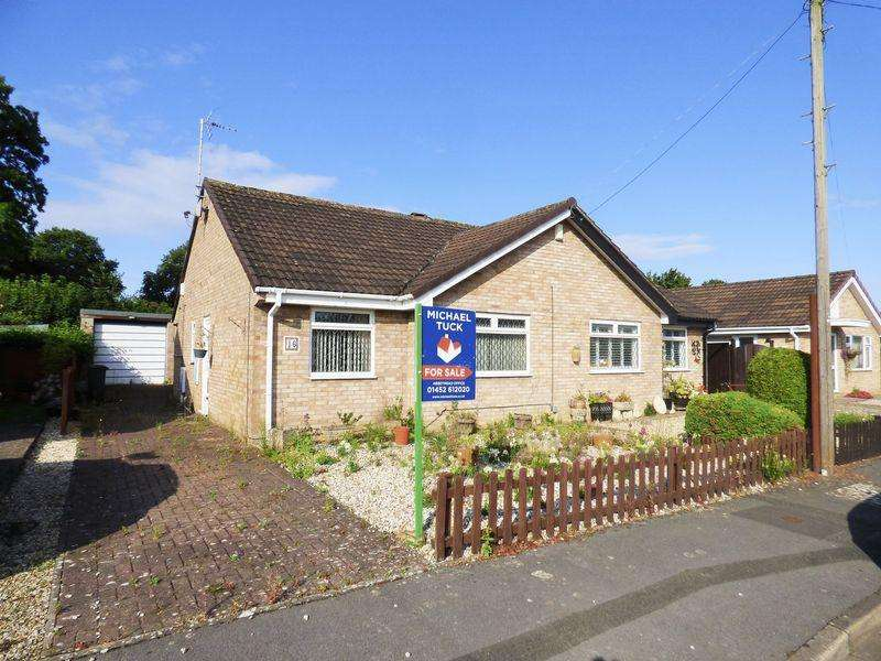 2 Bedrooms Semi Detached Bungalow for sale in Briar Lawn, Abbeydale, Gloucester